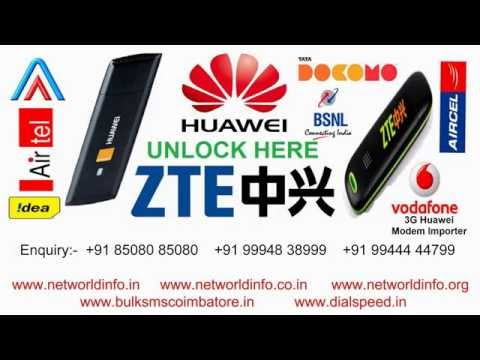 3G Huawei Modem Importer 3G Wi-Fi Router Importer India - Net World