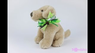How to Make a Puppy Collar Bow