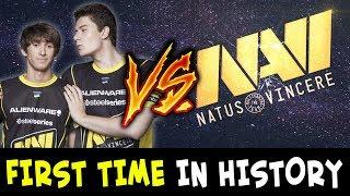 DENDI vs NAVI FIRST TIME in DOTA HISTORY — Secret standin