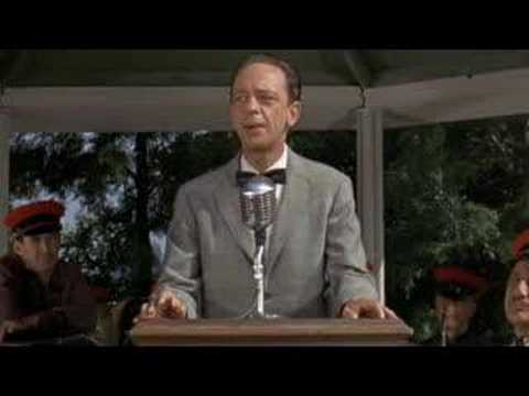 Don Knotts Nervous Speech Video