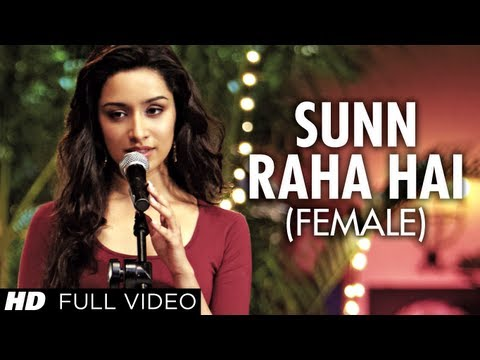 sun Raha Hai Na Tu Female Version By Shreya Ghoshal Aashiqui 2 Full Video Song | video