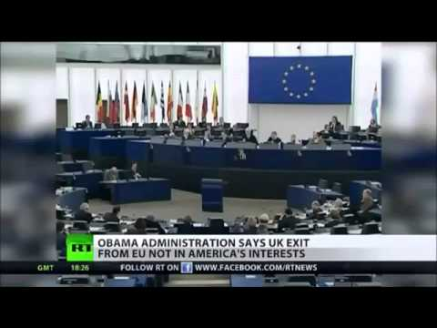 Obama & CIA does not want UK to have a EU-Referendum