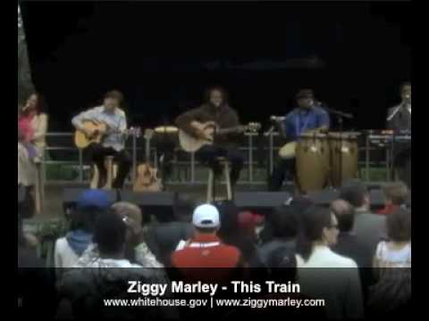 Ziggy Marley - This Train (Live White House Easter Egg Roll)