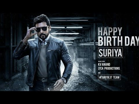 Surya birthday whatsapp status video,HBD Suriya|telugu Surya birthday what's app status video|Suriya