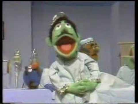 Sesame Street - The Ten Commandments Of Health