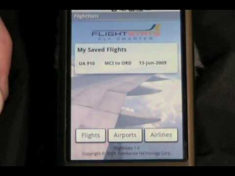 FlightStats for Android Demo