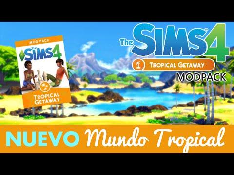 DESCARGA E INSTALA EL NUEVO MUNDO TROPICAL DE LOS SIMS 4 | THE SIMS 4 TROPICAL GETAWAY Mod pack
