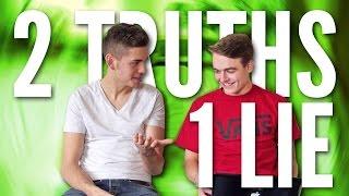 2 TRUTHS 1 LIE   CHALLENGE   GoGo & Smusa