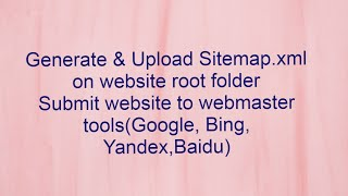 How to Generate and Upload Sitemap.xml file into the domain root folder| ASN TechHub