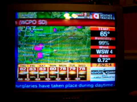 Emergency Alert System [Owned by 9 News weather tracker channel] Severe Thunderstorm Warning 6/2/10