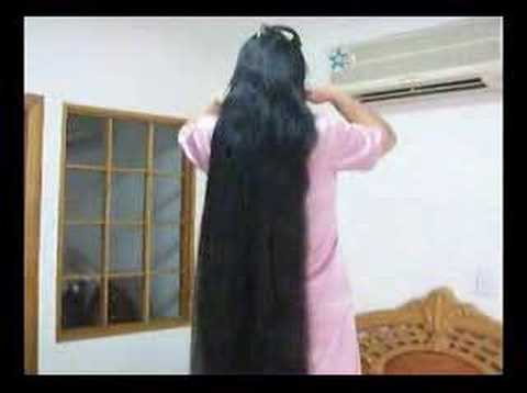Chinese longhair girl  of Guinness