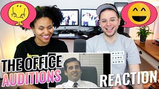 The Office - Audition Tapes | Dwight, Michael, Kevin, Pam, Jim | REACTION