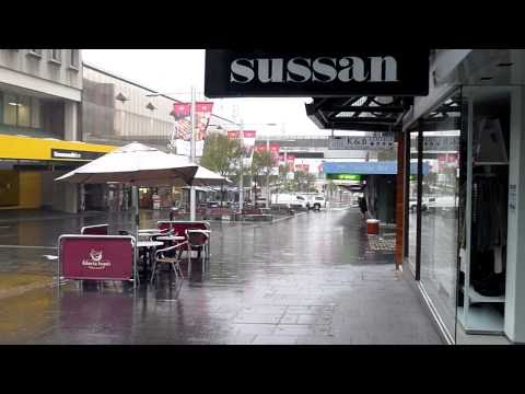Rainly Day at Chatswood Mall Ghost Town