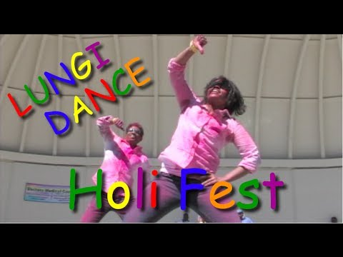 Lungi Dance At Holi Festival - MUSIC VIDEO! - Modesto Indian Kids Union MIKU
