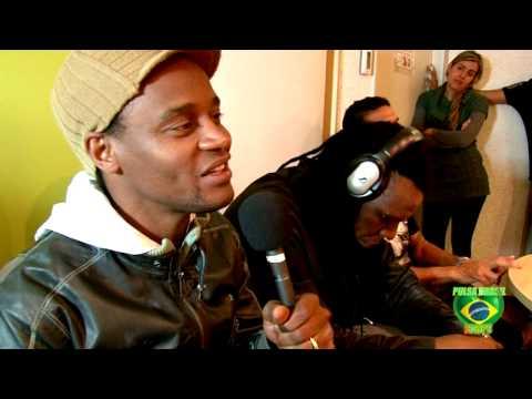 Interview Cidade Negra live op Radio Pulsa Brasil Amsterdam.