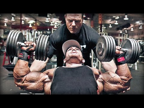 Flex Lewis Shoulder Workout