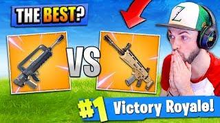 *NEW* LEGENDARY BURST vs LEGENDARY SCAR - Which is BEST? -  Fortnite: Battle Royale!