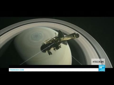 Cassini, la sonde de la NASA, entame un dernier plongeon entre Saturne et ses anneaux