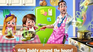 """Daddy's Little Helper """"TabTale Casual Games"""" Android Gameplay Video"""