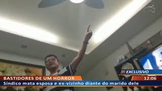 DF ALERTA - Homem filma militar executando esposa e o marido dele