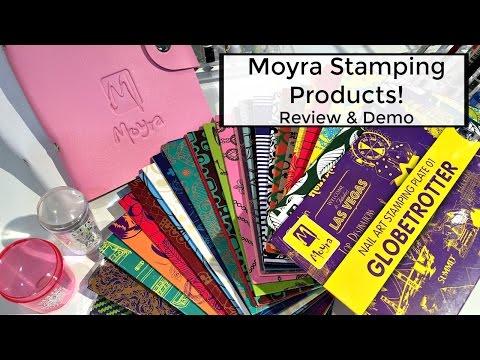 Moyra Nail Stamping Products | Review & Demo!