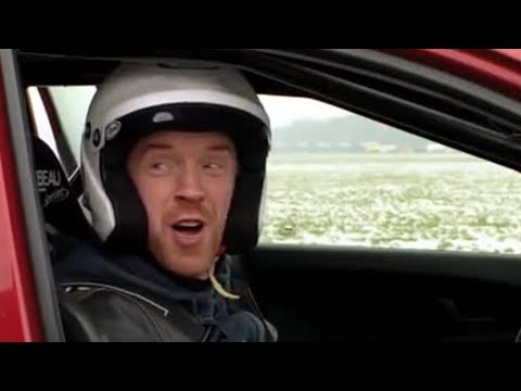 Homeland star Damien Lewis on the Top Gear track - Series 19 - Behind the scenes -Top Gear - BBC