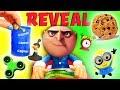 Don't Wake Daddy Gru Mystery Game Reveal Episode! Agnes, Margo, Lucy, Fidget Spiner, Minion Stewart!