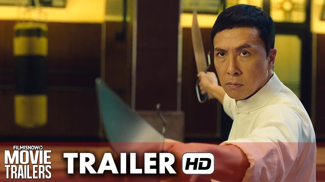 IP MAN 3 OFFICIAL US TRAILER 2016 - Donnie Yen Returns and this time fights Mike Tyson [HD]