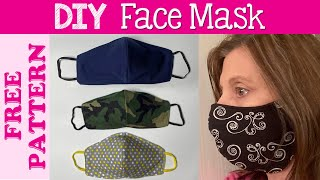 Best Fit Face Mask Tutorial Video & Free Pattern