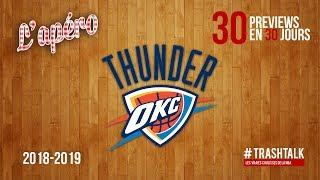 NBA Preview 2018-19 : le Oklahoma City Thunder