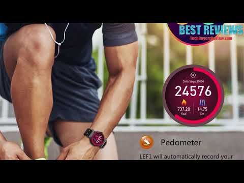 REVIEW LEMFO LEF1 8GB SmartWatch Phone GPS Pedometer Heart Rate Monitor 2017