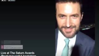 Richard Armitage with Stephanie Pressman on Periscope