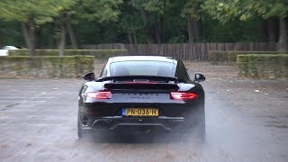 Porsche 991 Turbo S with Akrapovic - LOUD ACCELERATIONS!