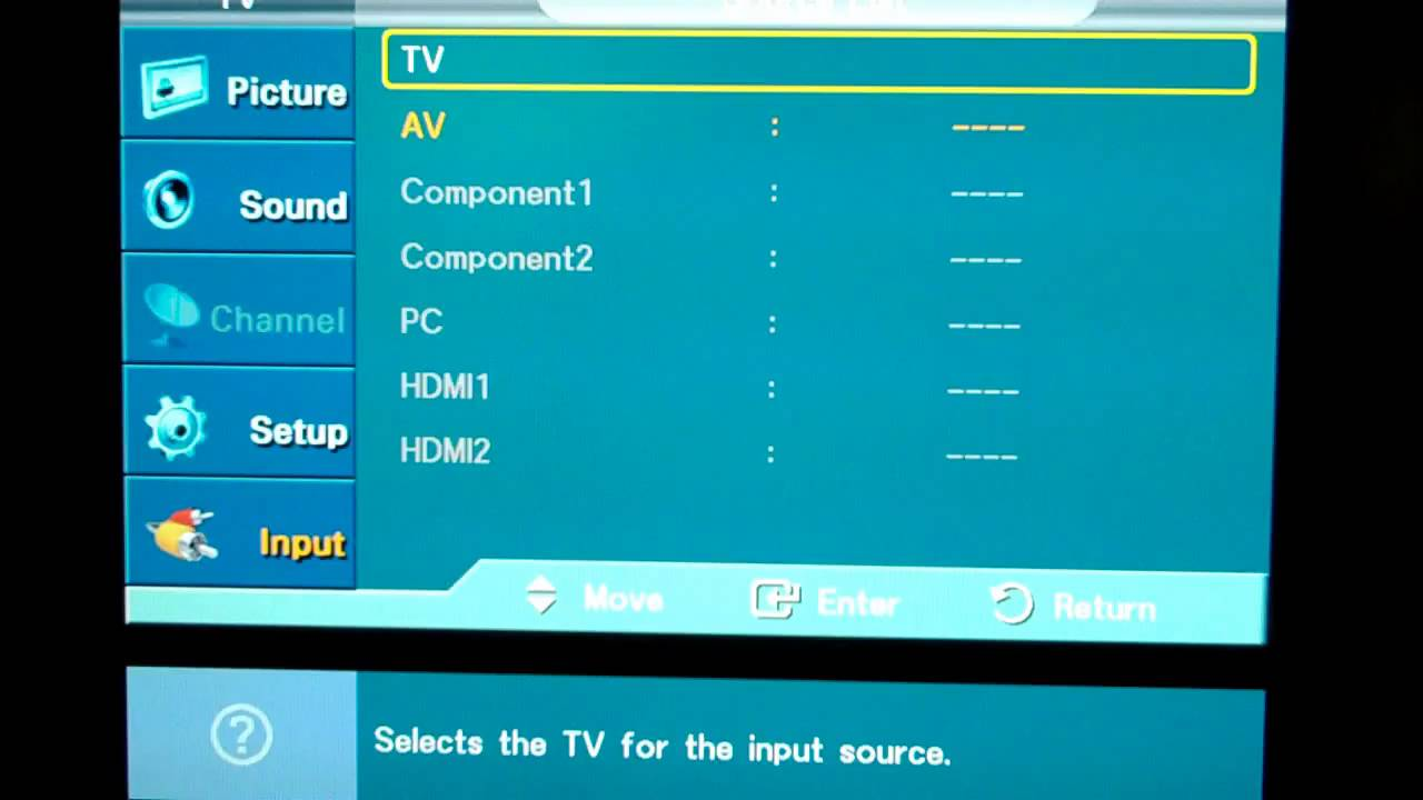 Solving The Samsung HDTV PC Input Is Greyed Out Problem