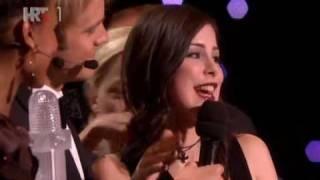 "Lena ""Satellite"" Winner 2010 Eurovision - Final Minutes. Germany"