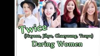 download lagu 3d Sound Jihyo, Nayeon, Tzuyu, Chaeyoung Twice - Daring gratis