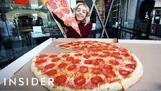 Biggest Pizza In Las Vegas Is 30 Inches