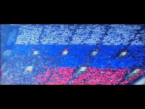 ГИМН РОССИИ (Россия - Германия 2009)   National Anthem of Russian Federation (Russia - Germany 2009)
