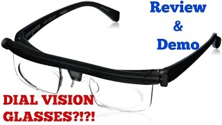 Dial Vision Glasses // Constant Consumer
