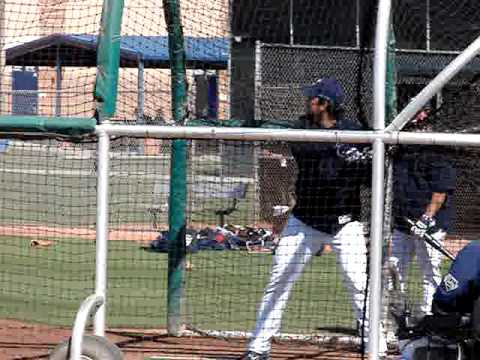 Adrian Gonzalez of the San Diego Padres Video