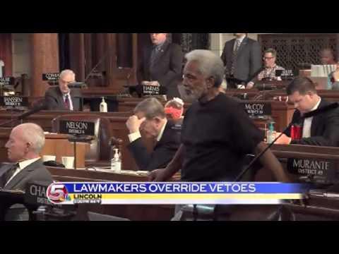 News 5 at 5 - Nebraska Legislature overrides Governor's vetoes / April 1, 2014