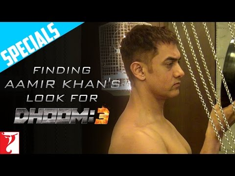 Finding Aamir Khan's Look - DHOOM:3