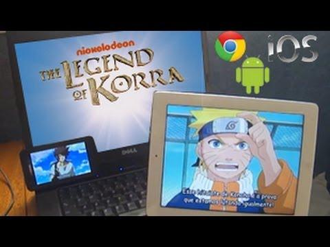 ANIMES no iPad. Celular e PC - GRÁTIS À VONTADE!