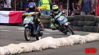 DUEL Sampai Finish Matic 150cc TU OPEN Penyisihan 2 Road Race Karawang Seri 3