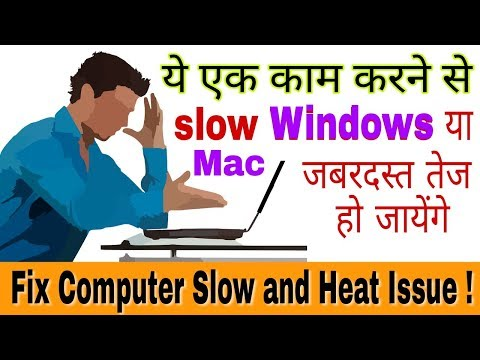 How to Fix Computer Slow Problem | Tips to make your Computer Fast - Mac or Windows