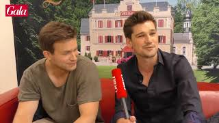Boris & Tobias. Love Story. Interview with the actors (EN subtitles)