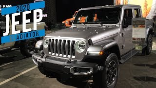 2020 Jeep Gladiator at Detroit auto show