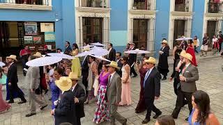 Wedding parade - Oaxaca, Mexico