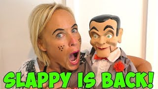 Slappy is Back! CarlayLee HD Mailed Slappy to Us?