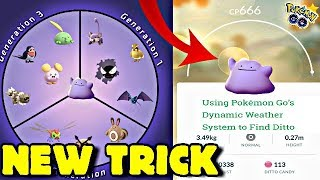 NEW TRICK ★ HOW TO CATCH DITTO IN POKÉMON GO! ★ HOW TO FIND DITTO FOR MEW QUEST 5/8